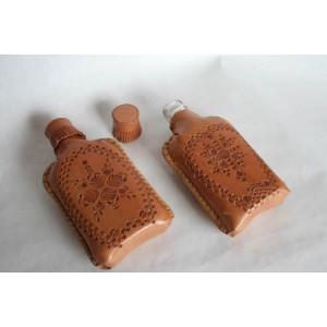 Fľaška s tlačeným vzorom