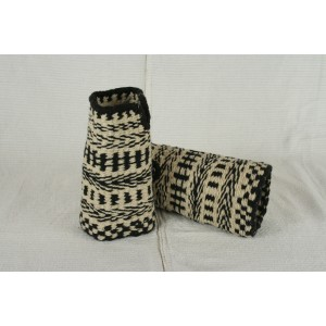 Zápästky tkané - vzor Čierny Balog